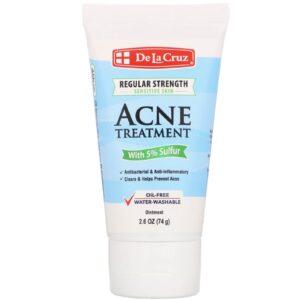 Маска против акне De La Cruz Ointment Acne Treatment with 5% Sulfur Regular Strength купить в Киеве Украина | All Face