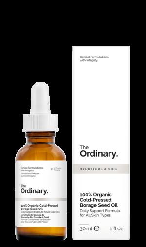 100 Organicheskoe maslo borago ogurechnika holodnogo otzhima The Ordinary 100 Organic Cold Pressed Borage Seed Oil