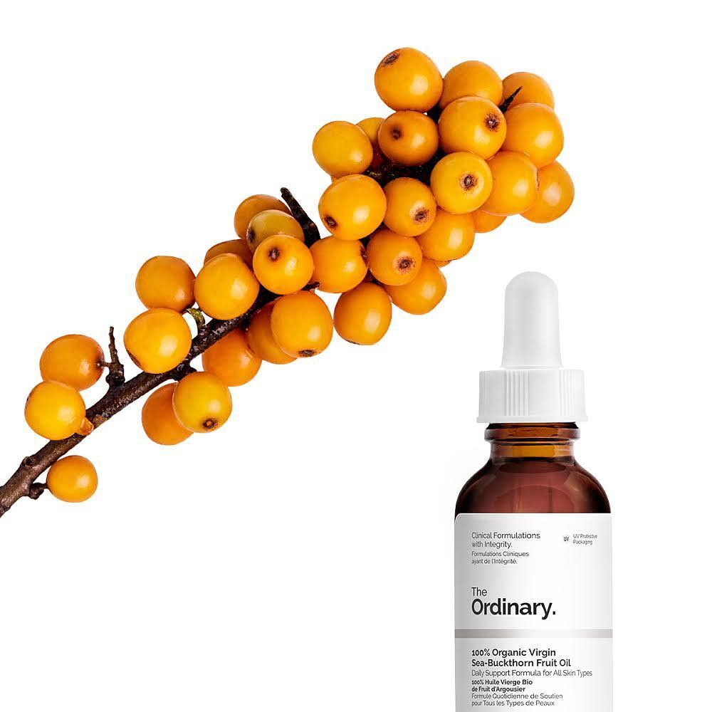 Масло облепихи The Ordinary 100% Organic Virgin Sea-Buckthorn Fruit Oil