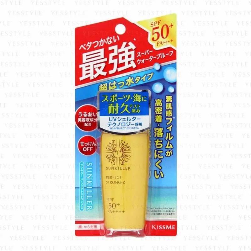 Солнцезащитная эмульсия Isehan Sunkiller Perfect Strong-Z SPF 50