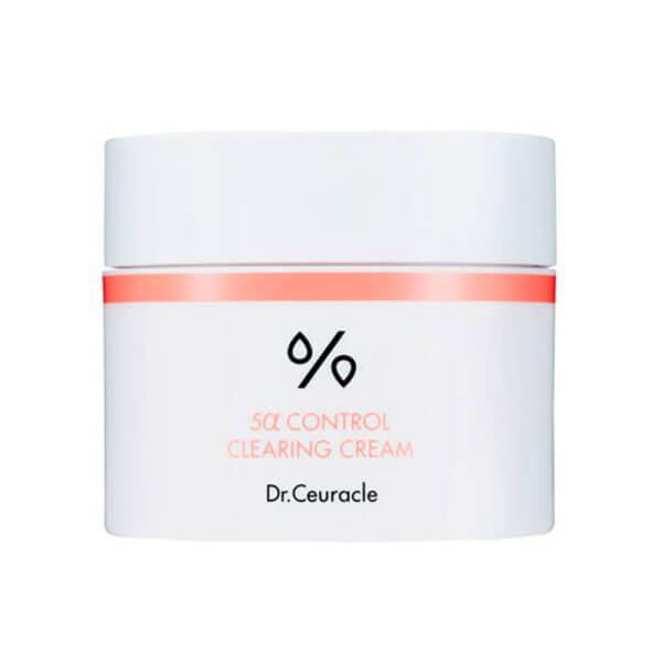 Себорегулюючий крем Dr. Ceuracle 5α Control Clearing Cream