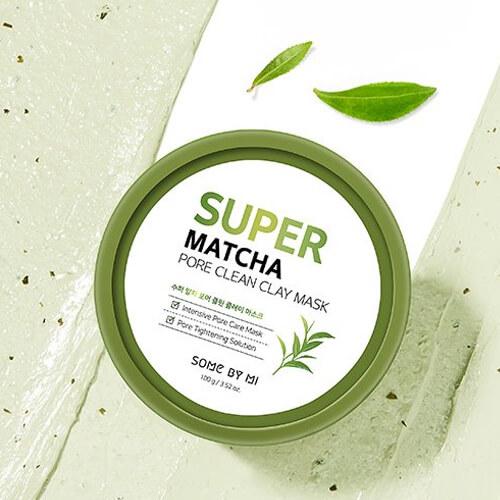 Очищаюча глиняна маска Some By Mi Super Matcha Pore Clean Clay Mask