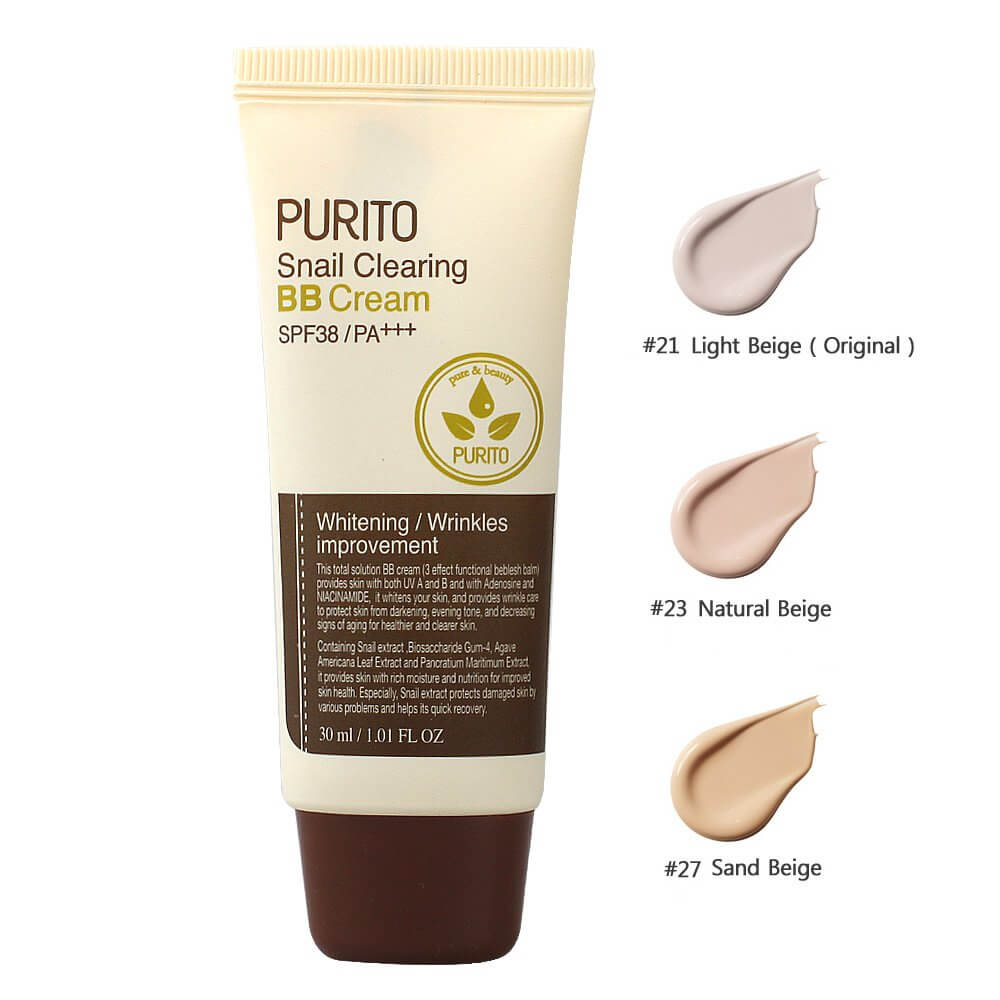 ББ-крем PURITO Snail Clearing BB Cream