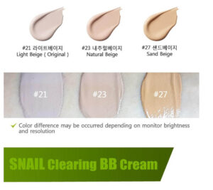 BB krem PURITO Snail Clearing BB Cream 4