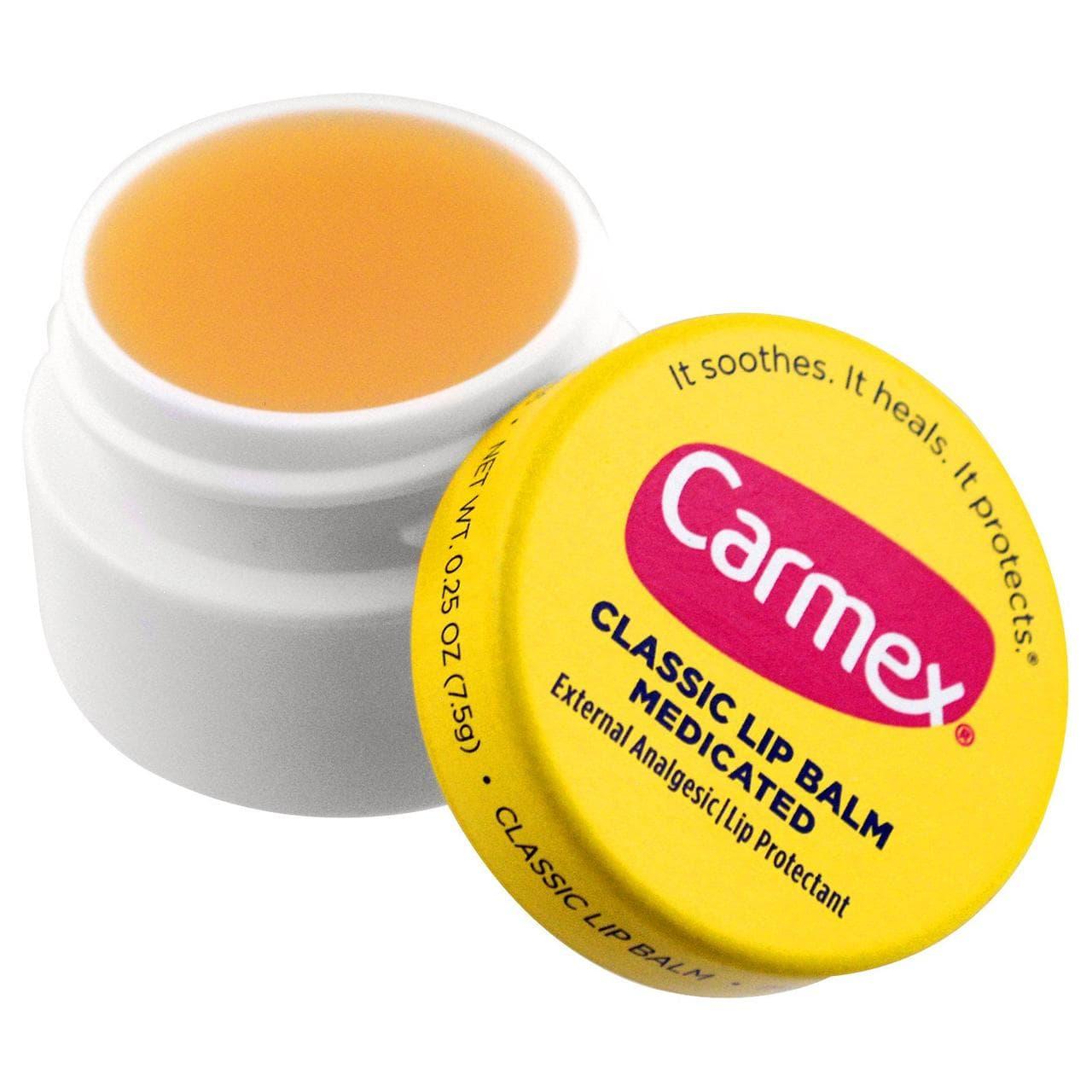 Бальзам для губ Carmex Classic Lip Balm Medicated