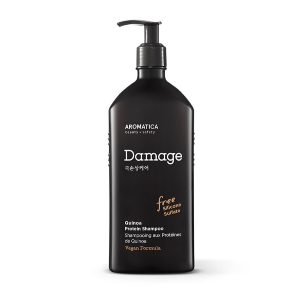 Бессульфатный шампунь AROMATICA Quinoa Protein Hair Shampoo