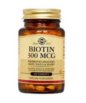 Biotin Solgar Biotin 300 mcg