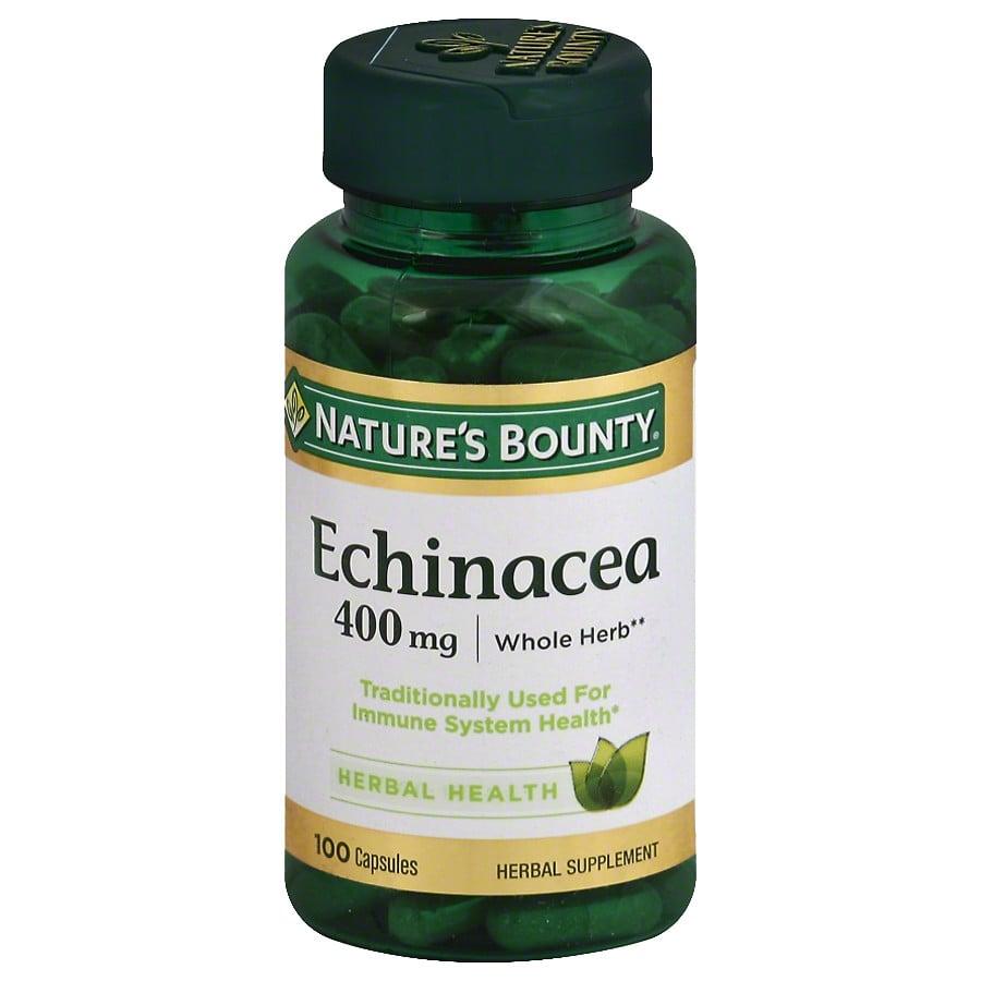 Ехінацея натуральна Nature's Bounty Echinacea 400 mg