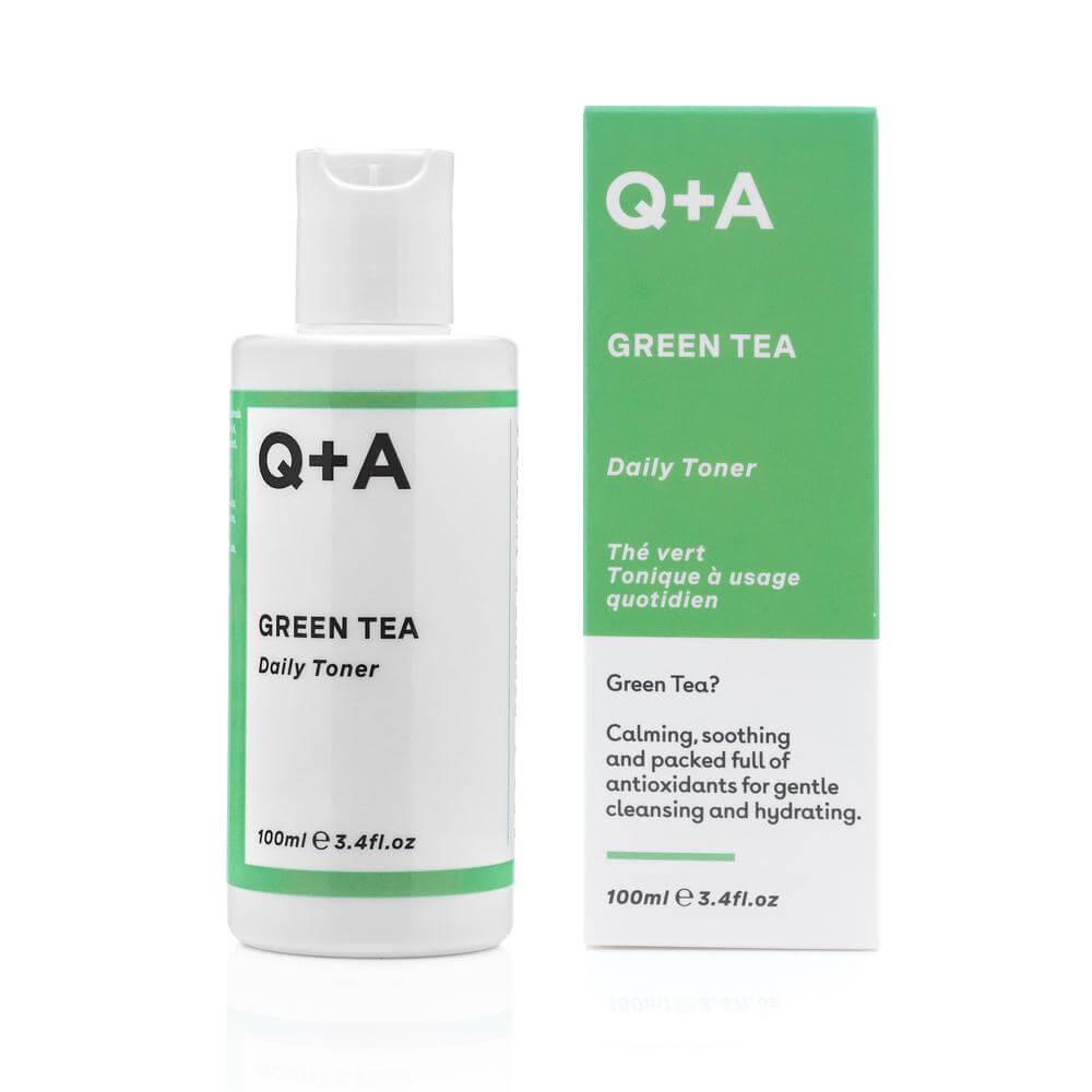 Заспокійливий тонер Q+A Green Tea Daily Toner