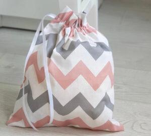 Эко мешочки для покупок SAW микс цветов зигзаг - размер M купить в Киеве Украина | All Face