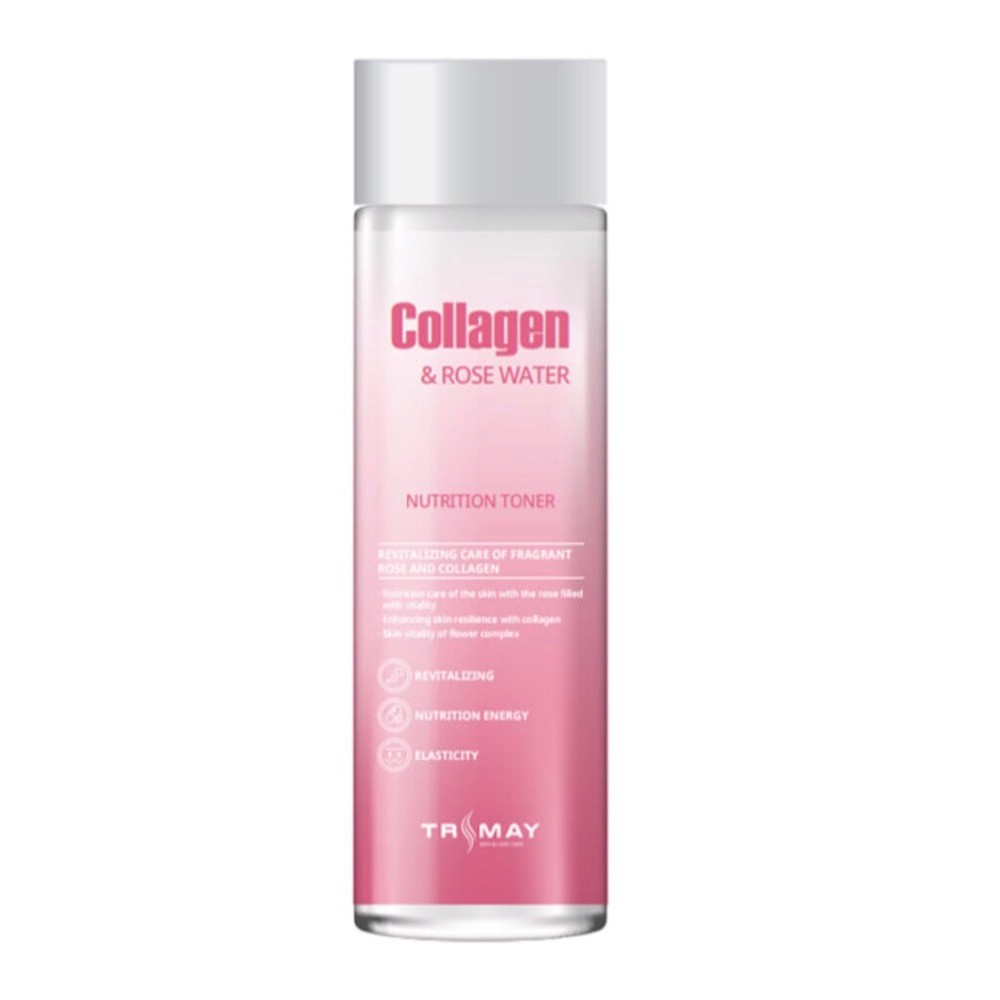 Коллагеновый тонер Trimay Collagen Rose Water Nutrition Toner