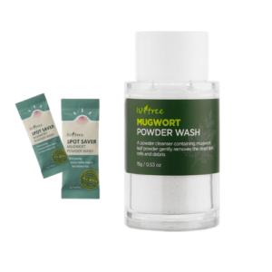 Энзимная пудра с полынью Isntree Spot Saver Mugwort Powder Wash купить в Киеве Украина | All Face