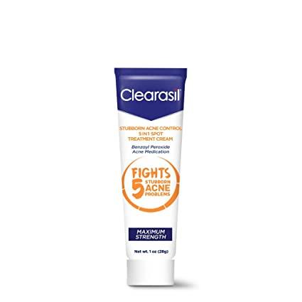 Крем от прыщей Clearasil Stubborn Acne Control Spot Treatment