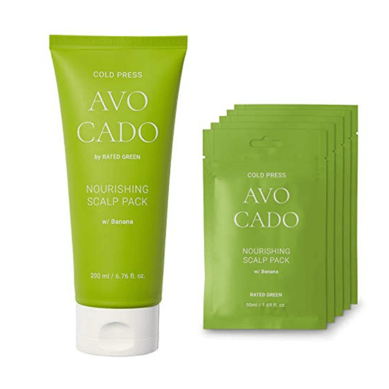 Питательная маска с авокадо Rated Green Cold Press Avocado Nourishing Scalp Pack