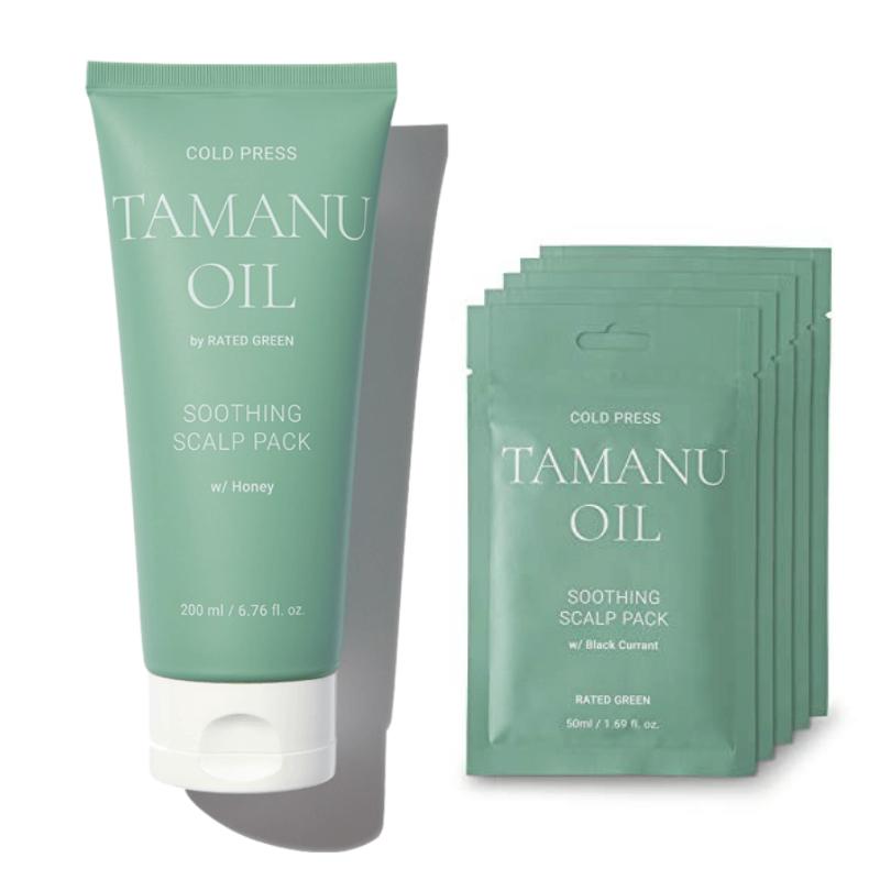 Успокаивающая маска Rated Green Cold Press Tamanu Soothing Scalp Pack