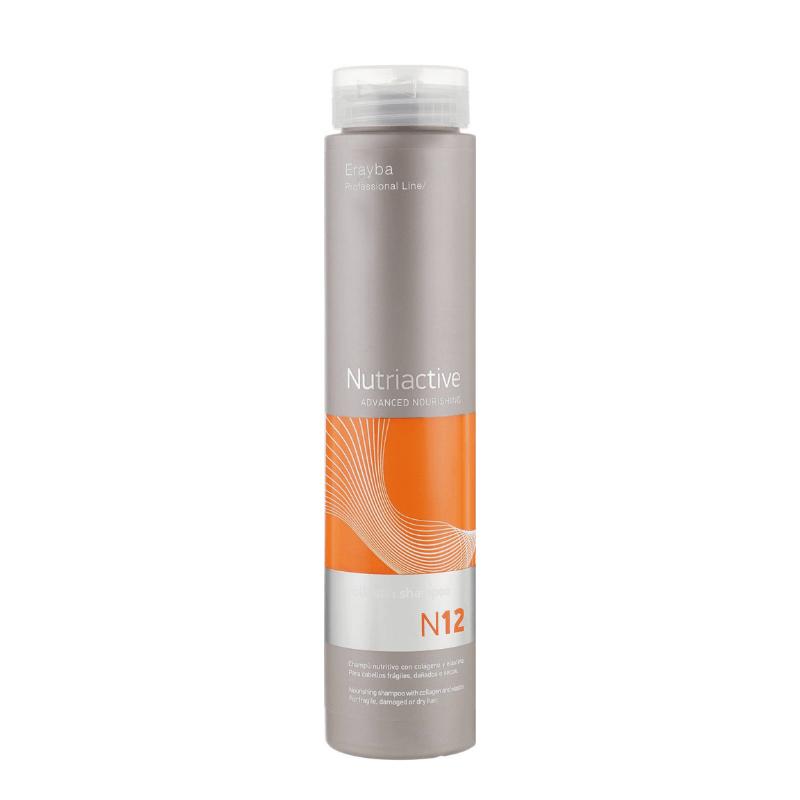 Питательный шампунь с коллагеном Erayba NC12 Collastin Shampoo