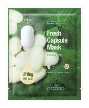 Маска для лифтинга и увлажнения OOZOO Fresh Capsule Mask Cocoon Silk купить в Киеве Украина | All Face