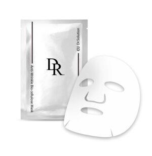 Маска для лица с вольюфилином и пептидами CUSKIN DR. Solution Anti-Wrinkle Bio Cellulose Mask купить в Киеве Украина | All Face
