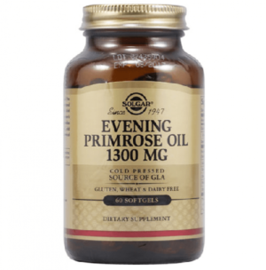 Масло вечерней примулы Solgar Evening Primrose Oil 1 300 mg, 60 капсул купить в Киеве Украина | All Face