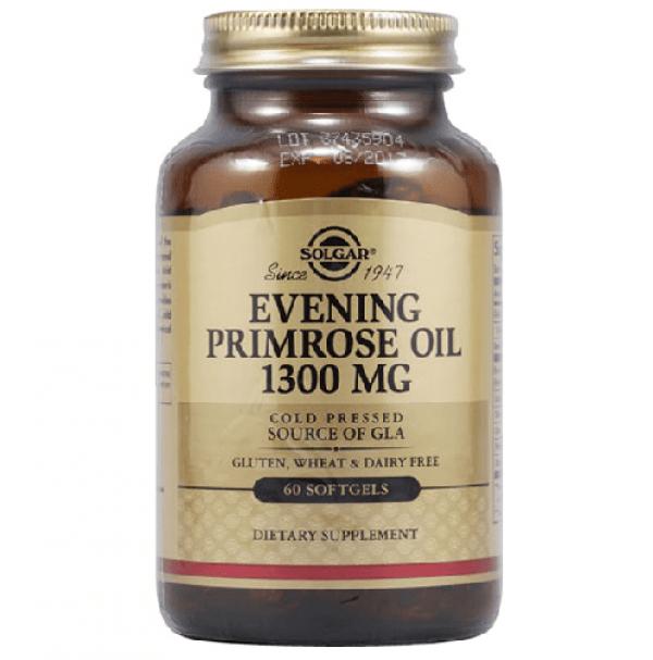 Масло вечірньої примули Solgar Evening Primrose Oil 1 300 mg, 60 капсул