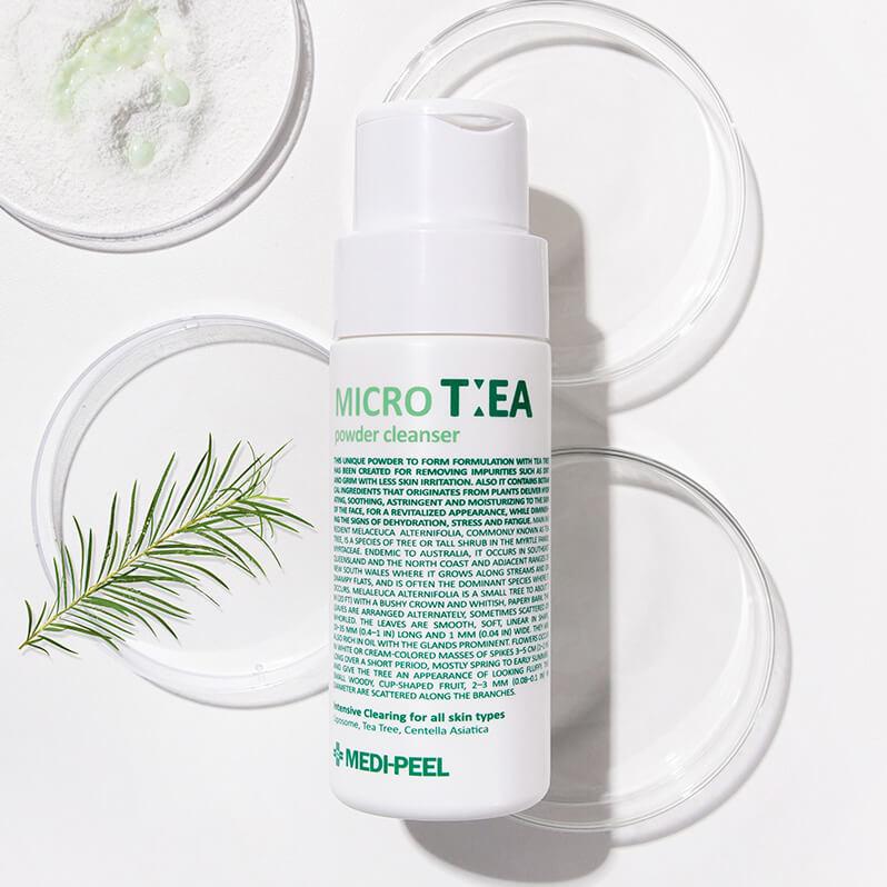 Ензимна пудра з чайним деревом Medi-Peel Micro Tea Powder Cleanser