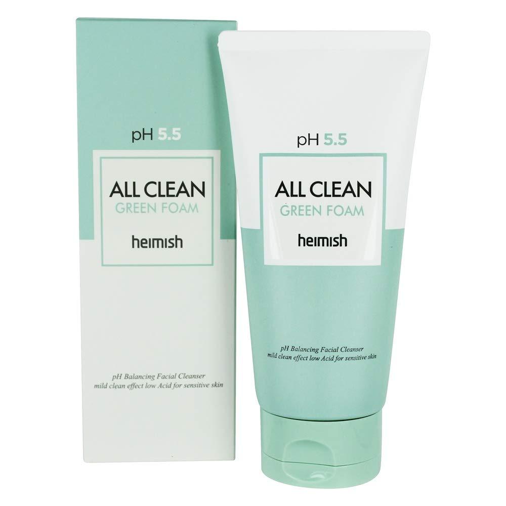 М'яка очищаюча пінка Heimish All Clean Green Foam