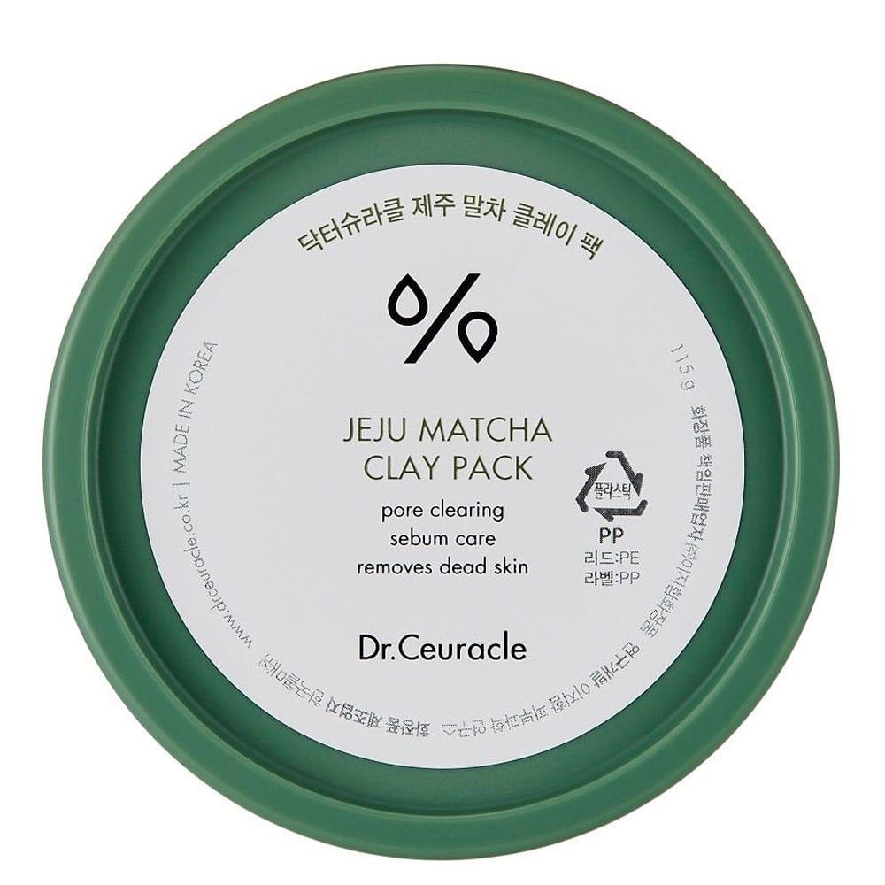 Очищающая глиняная маска Dr. Ceuracle Jeju Matcha Clay Pack