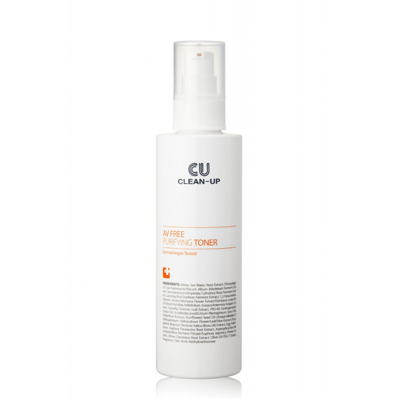 Очищаючий тонер для проблемної шкіри CUSKIN Clean-Up AV Free Purifying Toner