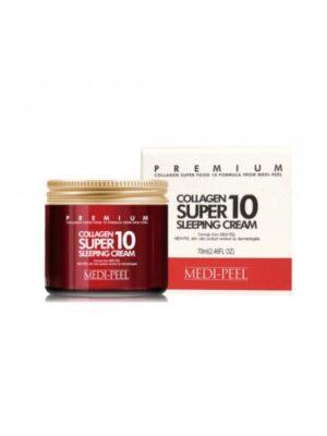 Ночной крем для лица с коллагеном MEDI-PEEL Collagen Super10 Sleeping Cream купить в Киеве Украина | All Face