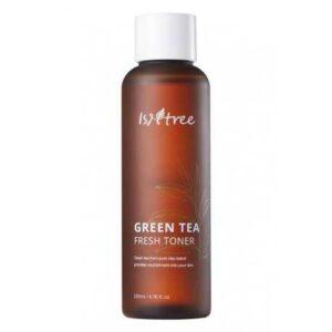 Бесспиртовый тонер на основе зелёного чая IsNtree Green Tea Fresh Toner купить в Киеве Украина | All Face