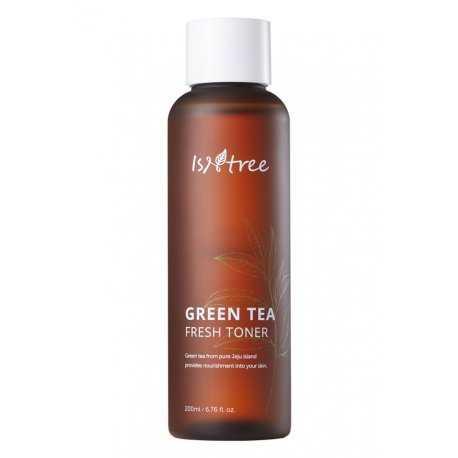 Бесспиртовый тонер на основе зелёного чая IsNtree Green Tea Fresh Toner