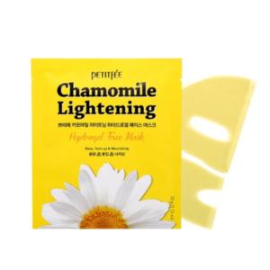 Успокаивающая гидрогелевая маска Petitfee Chamomile Lightening Hydrogel Mask купить в Киеве Украина   All Face