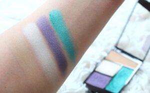 Paletka 4 tenej Wet n Wild Color Icon Eyeshadow Quad Hasta La Costa Baby 3