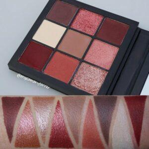 Paletka 9 tenej Huda Beauty Obsessions Palette Mauve 3