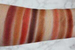 Paletka 9 tenej Huda Beauty Obsessions Palette Warm Brown 3