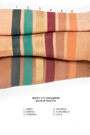 Palitra 12 tenej Colourpop Salvaje 1
