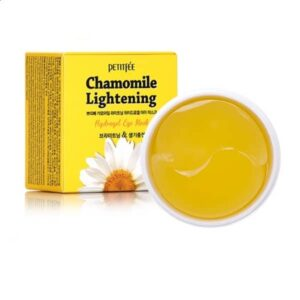 Patchi dlya kozhi vokrug glaz PETITFEE Chamomile Lightening Hydrogel Eye Mask 1
