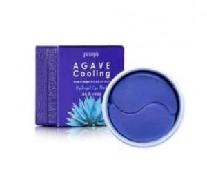 Patchi dlya kozhi vokrug glaz s ekstraktom agavy PETITFEE Agave Cooling Hydrogel Eye Mask