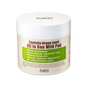 Пилинг-диски PURITO Centella Green Level All In One Mild Pad купить в Киеве Украина   All Face