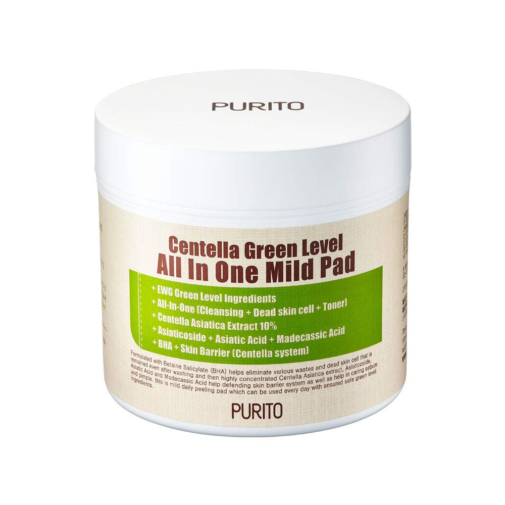 Пилинг-диски PURITO Centella Green Level All In One Mild Pad