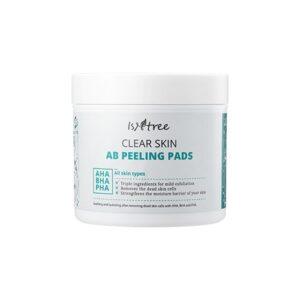 Пилинг диски c АНА и ВНА кислотами Isntree Clear Skin AB Peeling Pads купить в Киеве Украина | All Face