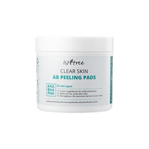 Пилинг диски c АНА и ВНА кислотами Isntree Clear Skin AB Peeling Pads