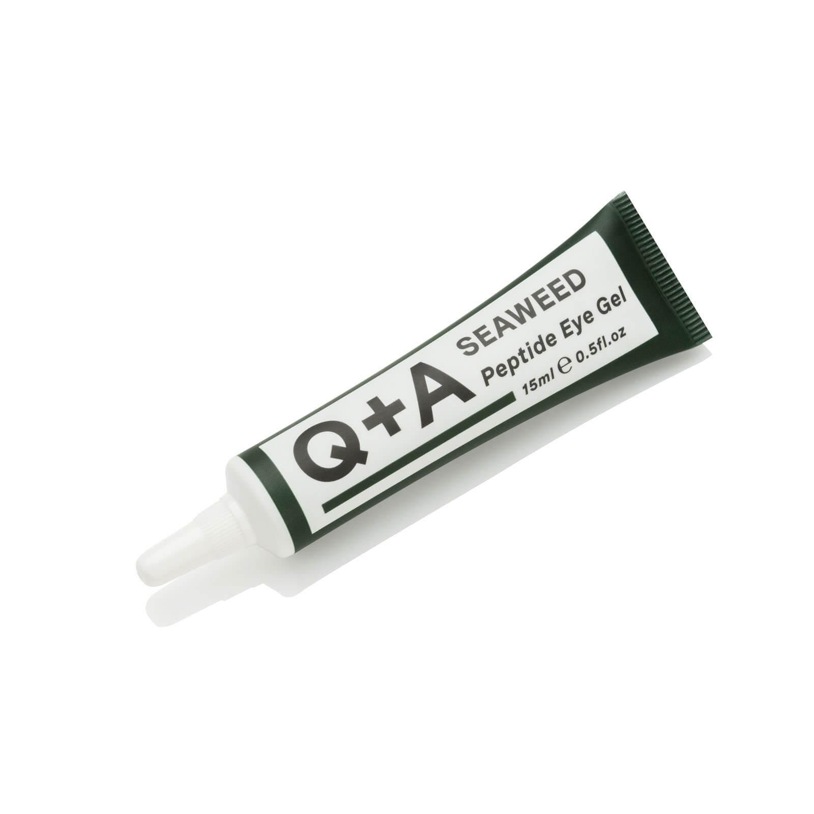 Гель для зони навколо очей з пептидами Q+A Seaweed Peptide Eye Gel