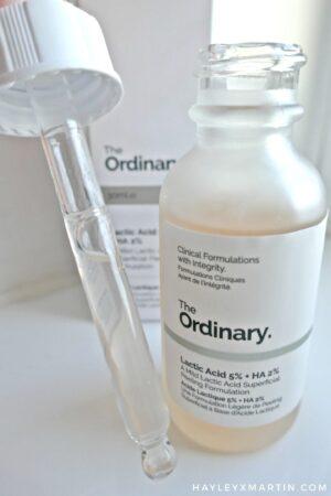Syvorotka na osnove molochnoj kisloty The Ordinary Lactic Acid 5 HA 2 2