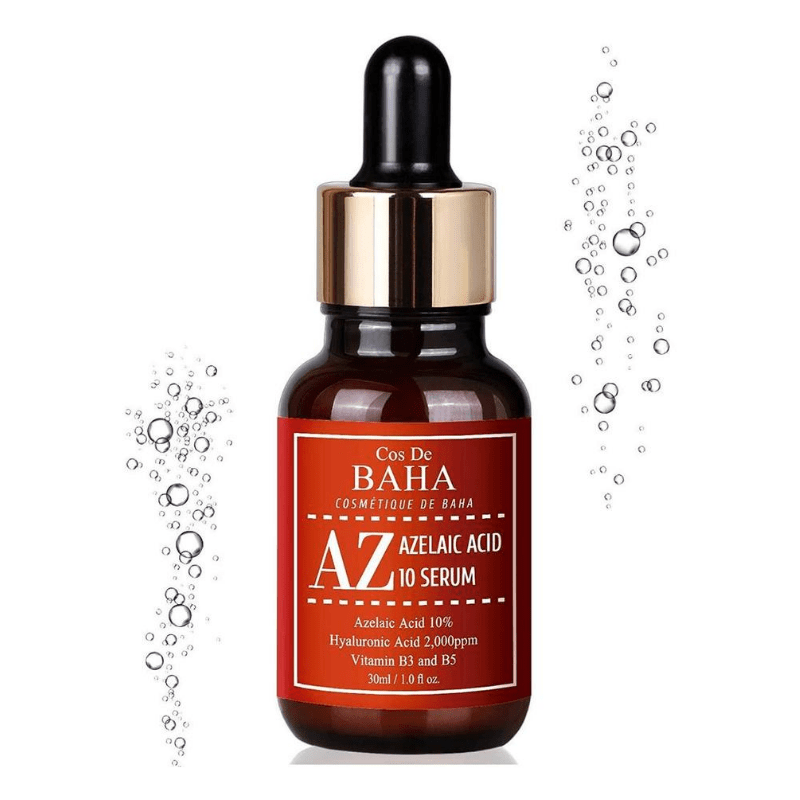 Серум з азелаїновою кислотою проти акне та куперозу Cos de Baha Azelaic Acid 10% Serum