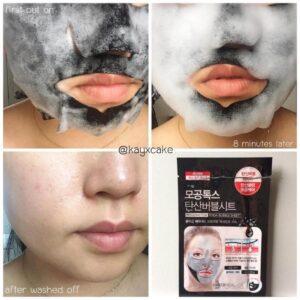 Tkanevaya maska ochishhayushhaya puzyrkovaya MEDIHEAL Mogongtox Soda Bubble Sheet 2