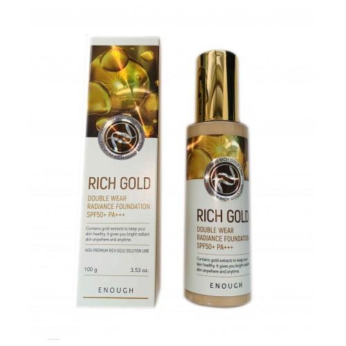 Тональний крем Enough Rich Gold Double Wear Radiance Foundation SPF 50
