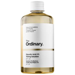 Tonik dlya litsa s glikolevoj kislotoj The Ordinary Glycolic Acid 7 Toning Solution