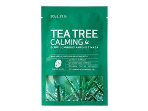 Успокаивающая маска с чайным деревом SOME BY MI TEA TREE CALMING GLOW LUMINOUS AMPOULE MASK купить в Киеве Украина | All Face