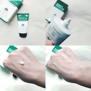 Uspokaivayushhij solntsezashhitnyj krem SOME BY MI TrueCica Mineral 100 Calming Sun Cream SPF50 PA 1